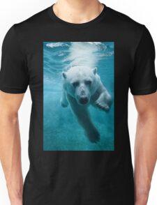 Polar Bear Swimming Unisex T-Shirt