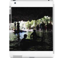 Inside Natural Bridges Cavern iPad Case/Skin