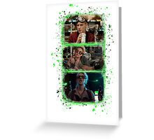 Holtzmann Slime  Greeting Card