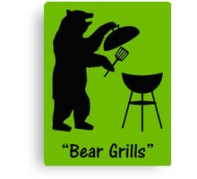 Bear Grills Canvas Print