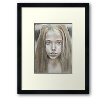 Age of innocence  Framed Print