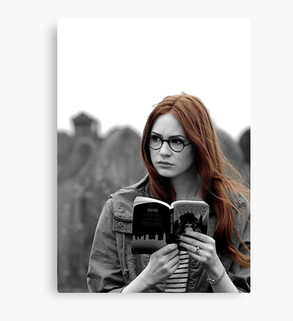 Amy Pond Canvas Print