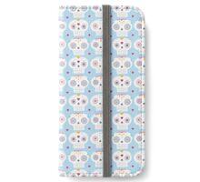 Sugar Skull Pattern iPhone Wallet/Case/Skin
