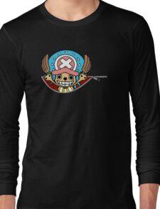 <ONE PIECE> Chopper Zip Long Sleeve T-Shirt