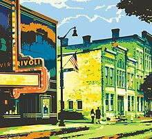 Rivoli & Washington House Inn - Cedarburg WI (bold) SQUARE by katherinepaulin