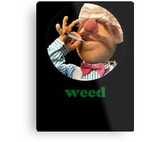 Weedish Chef Metal Print