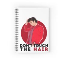 don't touch the hair - sebastian stan Spiral Notebook
