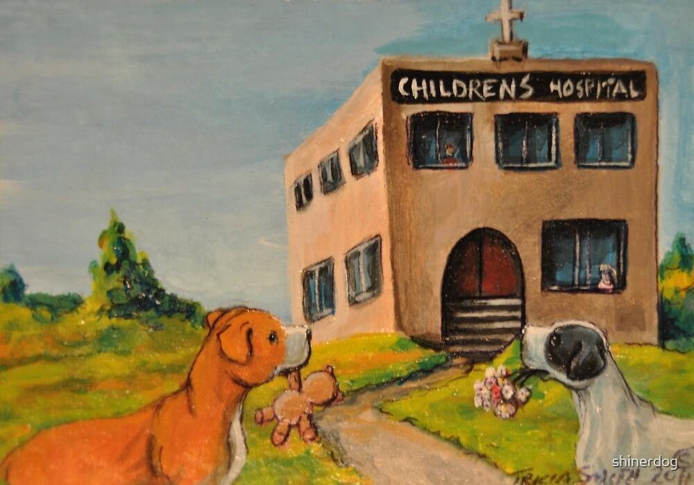 Unkind Pit Bulls~Sarcastic~Love~Giving~Dog by shinerdog