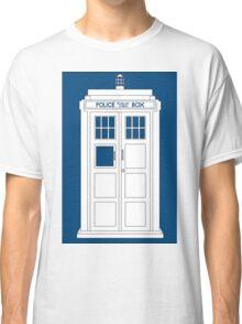 Inverted Tardis Classic T-Shirt