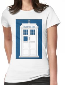 Inverted Tardis Womens Fitted T-Shirt