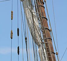 Pride II main mast and rigging by WalnutHill