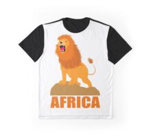 AFRICA (LION) Graphic T-Shirt