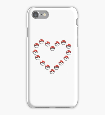 Pok-e-heart iPhone Case/Skin