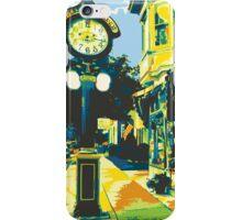Armbruster Clock & Storefront - Cedarburg WI (bold) SQUARE iPhone Case/Skin