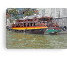Canal Cruiser Metal Print