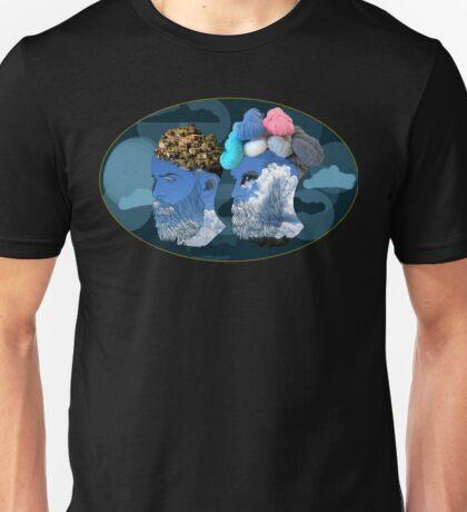 2 Men Unisex T-Shirt