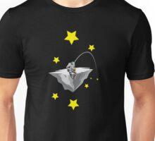 Astronauta pescador Unisex T-Shirt