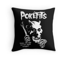 Pokefits Throw Pillow