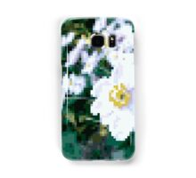 different 8bit flower Samsung Galaxy Case/Skin