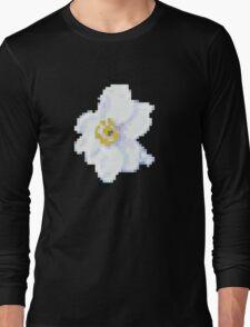 different 8bit flower Long Sleeve T-Shirt