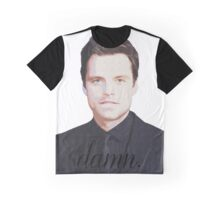 damn. - sebastian stan Graphic T-Shirt