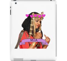M.I.A. at the SuperBowl :- ) iPad Case/Skin
