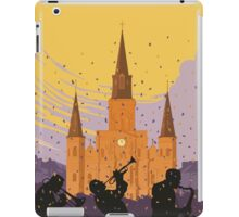 New Orleans The Big Easy Vintage Travel Poster iPad Case/Skin