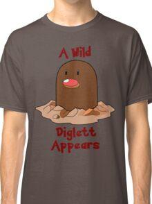 Pokemon Diglett Classic T-Shirt
