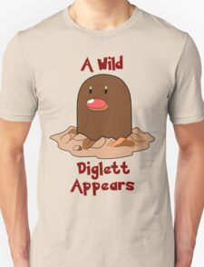 Pokemon Diglett Unisex T-Shirt