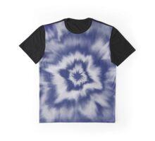 Navy swirl Graphic T-Shirt