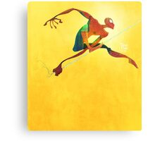 Here comes the spider-man Canvas Print