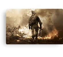 Modern Warfare 2 Canvas Print