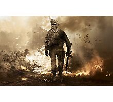 Modern Warfare 2 Photographic Print