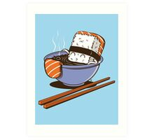 JACUZZI FOOD Art Print