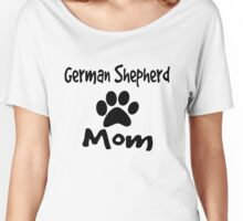German Shepherd Mom Women's Relaxed Fit T-Shirt