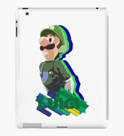 LUIGI TIME! iPad Case/Skin