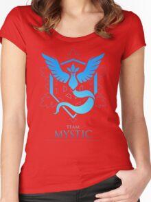 TEAM MYSTIC - T-Shirt / Phone Case / Mug / More Women's Fitted Scoop T-Shirt