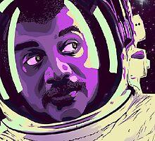 Neil Tyson The Astronaut by BillNyeIsDope