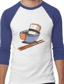JACUZZI FOOD Men's Baseball ¾ T-Shirt