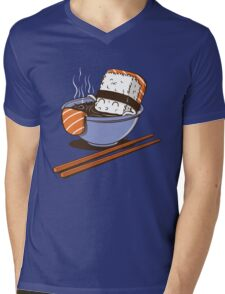 JACUZZI FOOD Mens V-Neck T-Shirt