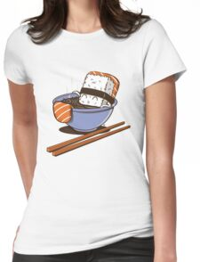 JACUZZI FOOD Womens Fitted T-Shirt