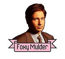 Foxy Mulder Photographic Print
