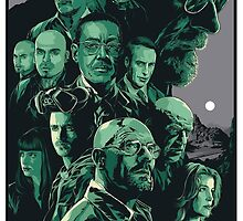 Breaking Bad Artwork by imLXZ