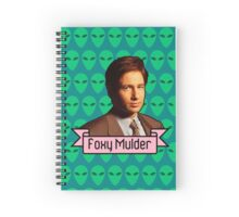 Foxy Mulder ft. Aliens Spiral Notebook