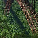 New River Gorge Bridge by Cathy Cale