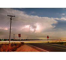 Lightning Leading Lines Photographic Print