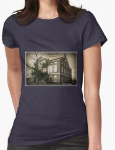 Lancaster SC, Courthouse Womens Fitted T-Shirt