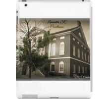 Lancaster SC, Courthouse iPad Case/Skin