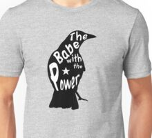 Crow Babe Power Black Unisex T-Shirt