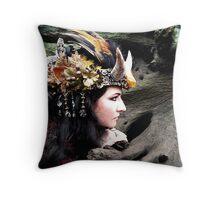 Capricorn Princess Throw Pillow